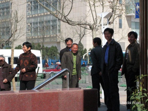 Nanjing, China - group of men