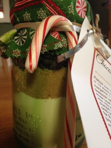 Lancer Kitchen goes Holiday Red and White: Cookie in a Jar