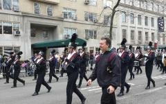 LHS band marches in St. Patrick's Day parade in NYC: Photo of the Day 3/18/2015