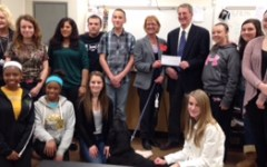Animals 101 donates to the Frederick Humane Society