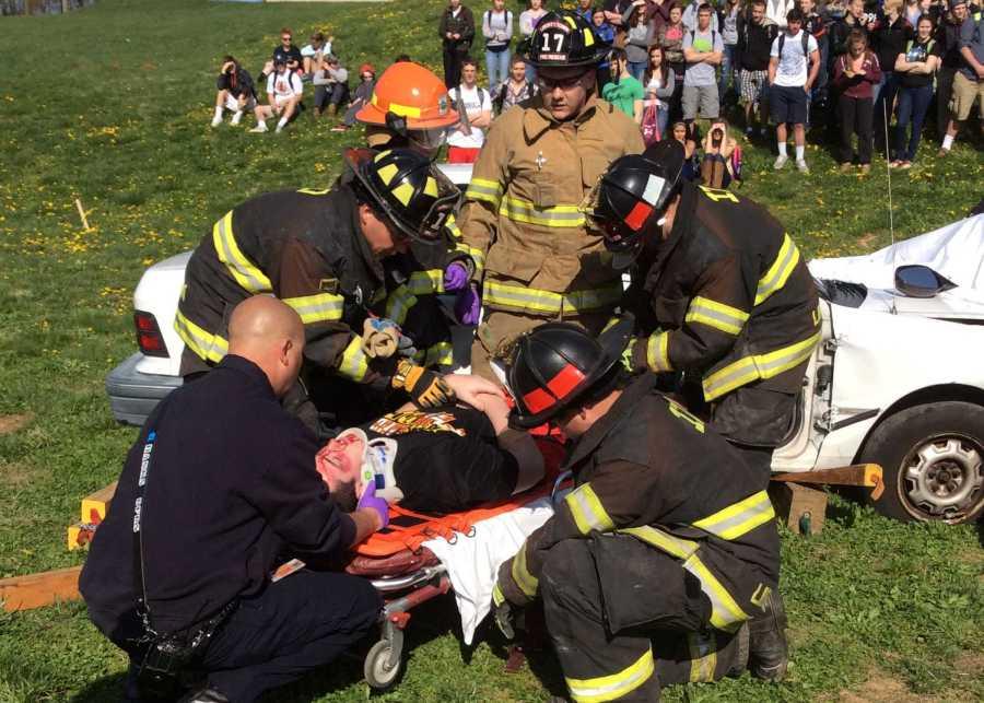 Lancers simulate crash for Every 15 Minutes program