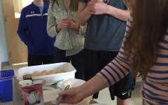 French students taste their new culture: Photo of the Day 4/15/2015