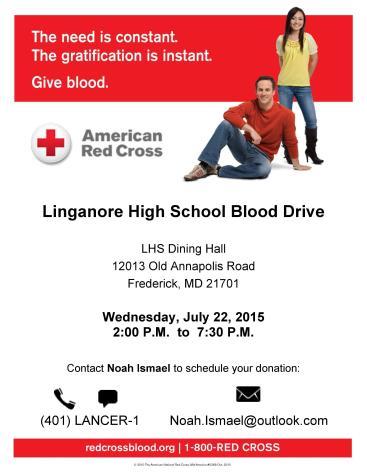 Donate blood during summer shortage