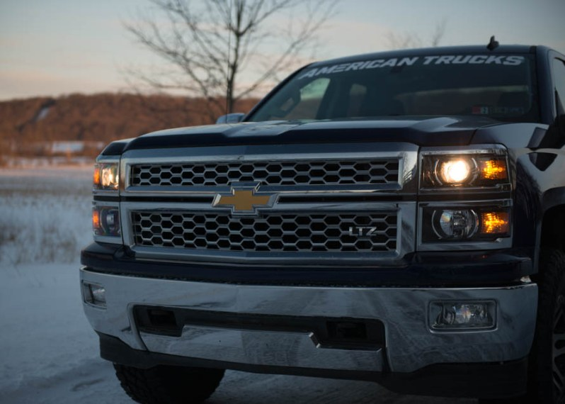 Silverado Headlights and Upgrade Options   AmericanTrucks     low beam halogen bulbs  American Muscle