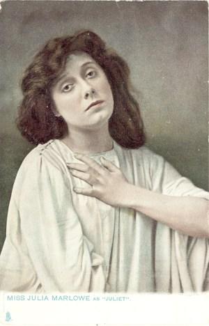Marlow as Juliet