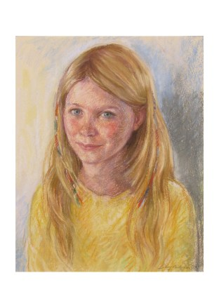 'Stephanie' pastel 14 x 12in