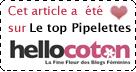 Elu TOP-PIPELETTES sur Hellocoton