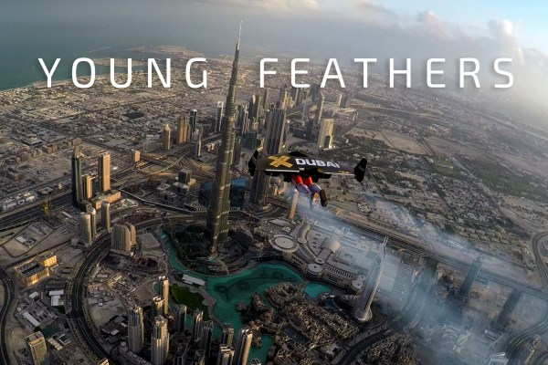 Men Fly Over Dubai In Jetpack