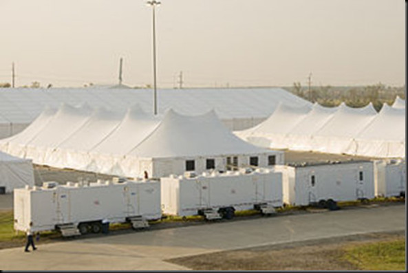 The FEMA c& seen above is where good Texans will be forced to live and grow dependent on the government. Obama can force Texans to sign all sorts of ... & Update: Obama Orders FEMA Death Camps for Texans Makes Strong ...