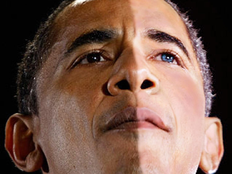 Image result for obama half and half