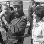 Confirmed:  Photo Of Fidel Castro Holding His Son, Justin Trudeau (New Canadian Prime Minister)