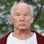 Image of Donald Trump with no Wig or Makeup