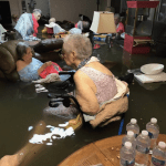 Shocking Photo Of Nursing Home Residents Waiting To Get Rescued in Houston