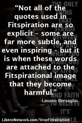 #StopFitspiration | Libero Magazine 21