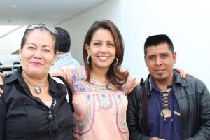 Mariana Benítez y mujeres Oaxaca 6