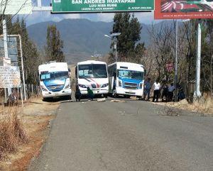 Liberan a transportistas retenidos en Huayapam
