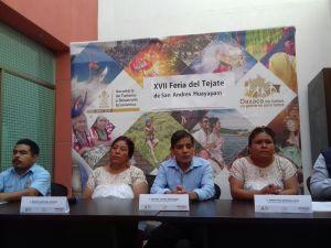 Anuncian feria del téjate en Huayapam.