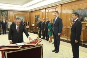 Juan Ignacio Zoido Álvarez jura el cargo de Ministro del Interior