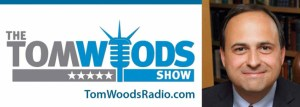 Front logo of the Tom Woods show