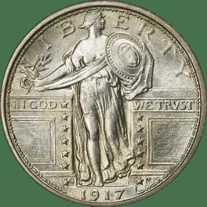 Standing_Liberty_Quarter_Type1_1917S_Obverse