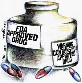 FDA approved drug. Warning: contains FDA approved drug.