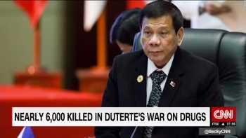 Nearly 6,000 killed in Duterte's war on drugs.