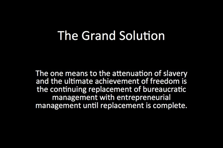 Lecture #19, The Grand Solution