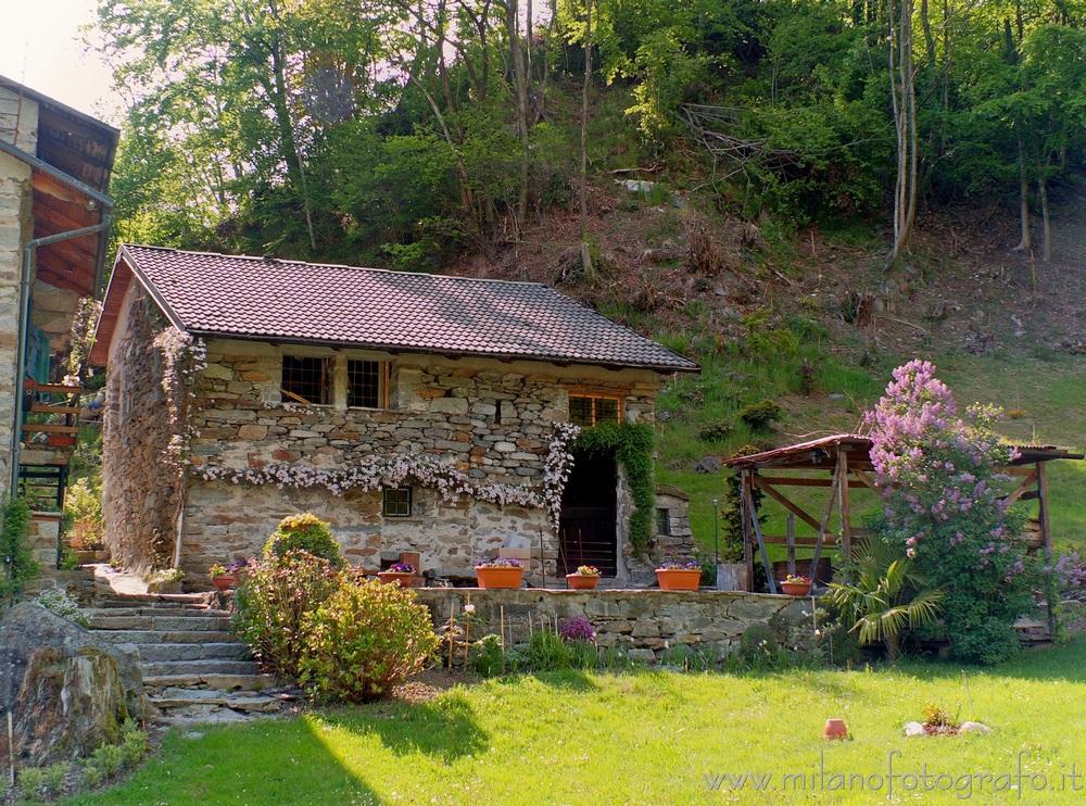 Montesinaro fraction of Piedicavallo (Biella, Italy)