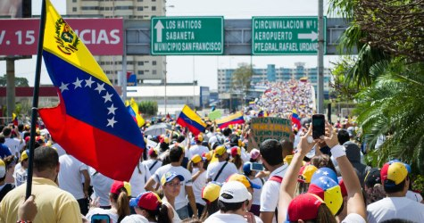 PROTEST!  Venezuela's Corrupt Gun Confiscation:  A Wake-Up Call To Americans