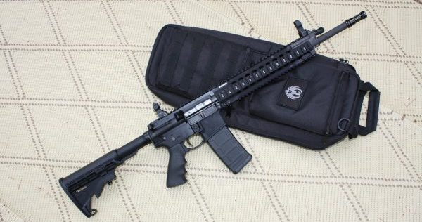 Ruger SR 556 (Dave Workman photo)