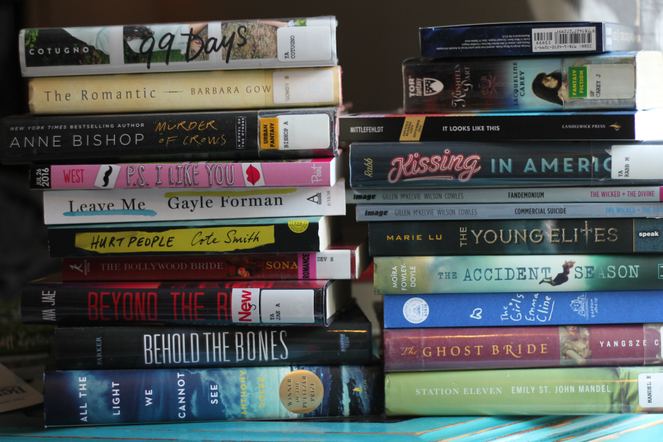 2016 readathon books