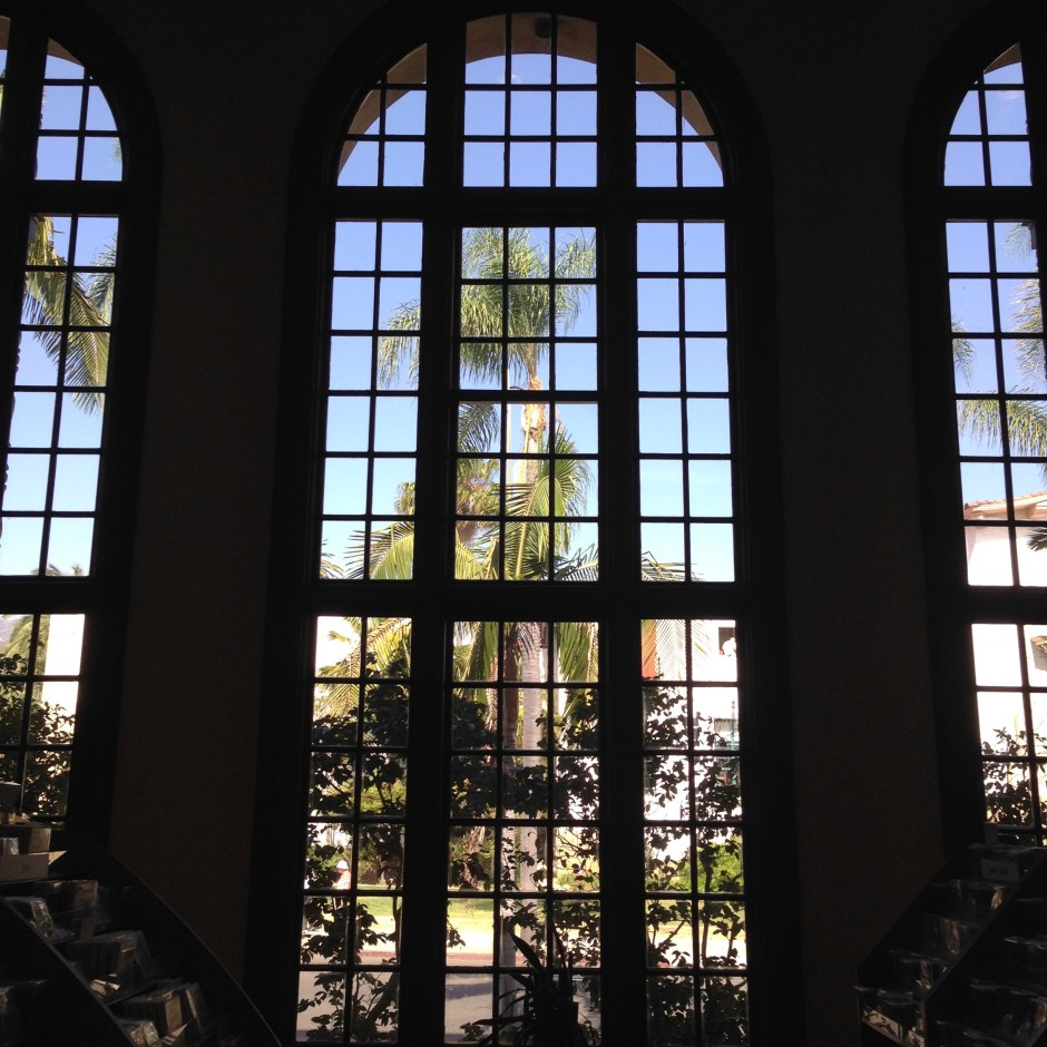 library window