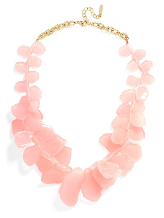 blush bauble bar necklace