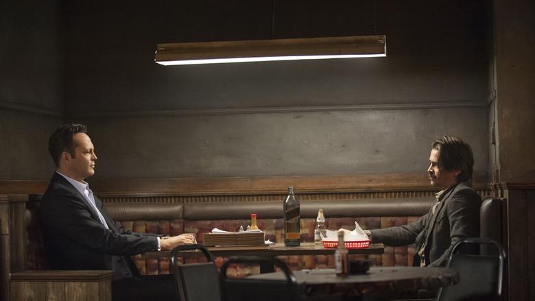 Frank Semyon (Vince Vaughn) és Ray Velcoro (Colin Farrell) a True Detective második szériájában
