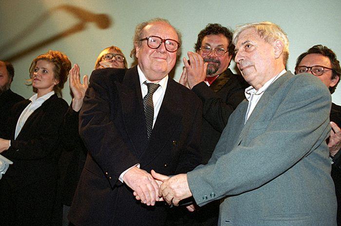 Bacsó Péterrel 1995-ben