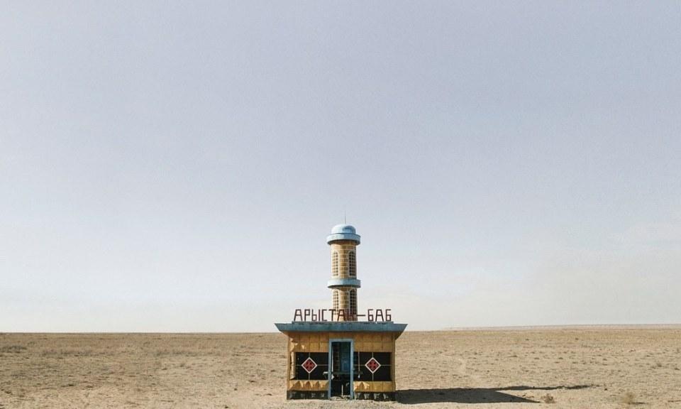Szovjet buszmegállók (Christopher Herwig fotója)