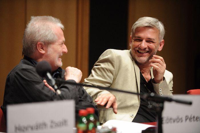 Eötvös Péter és Alföldi Róbert (fotó: Bors/Cser Dániel)