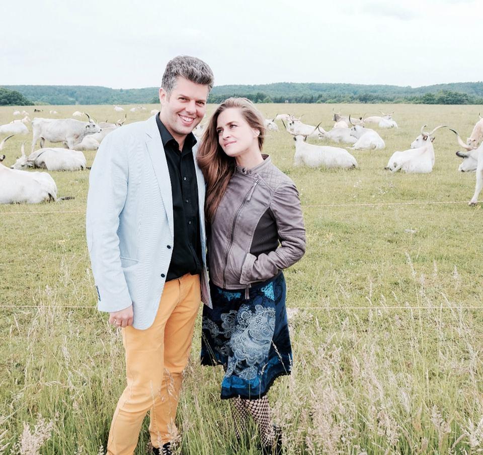Kelemen Barnabás és Kokas Katalin (forrás: Kelemen Barnabás Facebook-oldala)