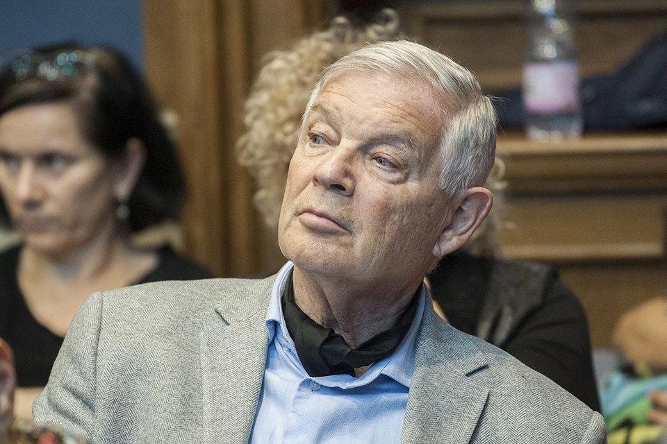 Marton László, a Vígszínház főrendezője a székfoglaló előadáson (fotó: Szigeti Tamás)