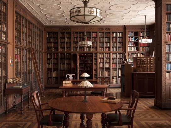 The Drs. Barry and Bobbi Coller Rare Book Reading Room