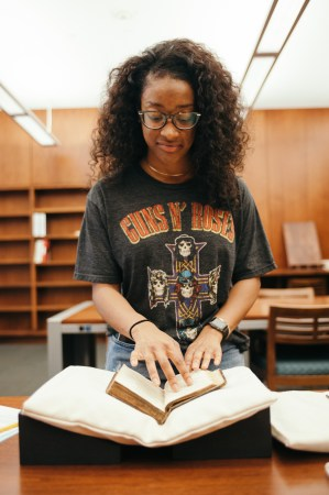 special collections student assistant