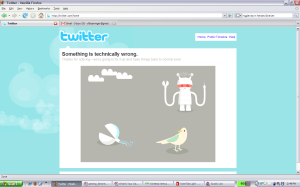 We broke Twitter