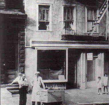 Piraguero en NY 1920