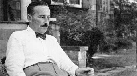 El escritor alemán Stefan Zweig