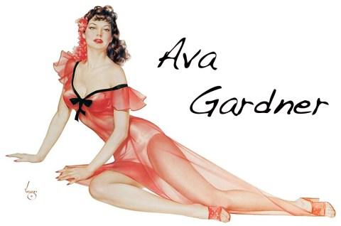 Ava Gardner por Vargas