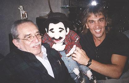 García Márquez en su encuentro con Mofles y Welch