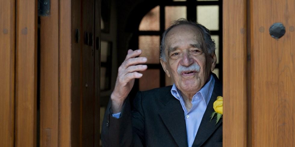 Una de las últimas fotos de Gabriel García Márquez en Marzo 6 del 2014