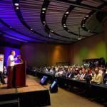 El Presidente clausuro el 68o Congre so Mundial de Medios Informativos