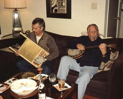 Terry and Jack Vance 1988