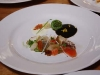 Smoked Sashimi & Spring Vegetables, Meyer Lemon Yogurt & Seaweed Puree (Shotaro